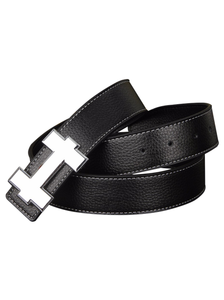 H Synthetic Leather Belt2